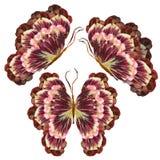 Blumenschmetterling gemacht von den Blumen Lizenzfreie Stockfotografie
