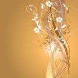 Blumensommer-Hintergrund Lizenzfreie Stockbilder