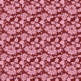 Blumenspitzemuster Stockfoto