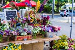 Blumenstand Lizenzfreies Stockfoto