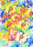 Blumenstimmung. Stockfotos