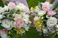Blumensträuße Lizenzfreies Stockfoto
