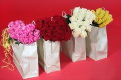 Blumensträuße der Rosen Lizenzfreie Stockbilder