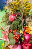 Blumensträuße von Blumen und von Kräutern Lizenzfreies Stockbild