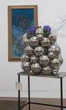 Blumensträuße zu Kunstausstellung 2014 Lizenzfreie Stockfotografie
