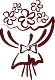 Blumenstrauß lizenzfreie abbildung