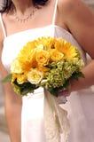 Blumenstrauß 2 - Hochzeit Lizenzfreies Stockbild
