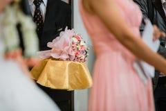 Blumenstrauß-Blumen für Hochzeits-Zeremonie Lizenzfreie Stockfotografie