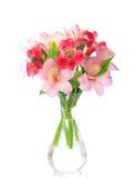Blumenstrauß der Alstroemeriablumen lizenzfreie stockbilder