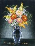 Blumenstrauß der Astern Lizenzfreies Stockfoto