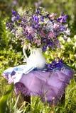 Blumenstrauß der Blenden Lizenzfreies Stockbild