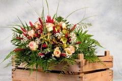 Blumenstrauß der Blumen Stockbilder