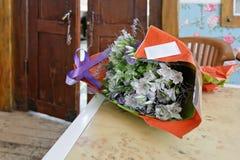 Blumenstrauß der Blumen Lizenzfreies Stockbild