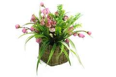 Blumenstrauß der Blumen in einem Vase Lizenzfreies Stockfoto