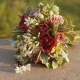 Blumenstrauß der Braut. stockbild