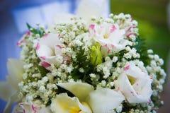 Blumenstrauß der Braut Stockfotos