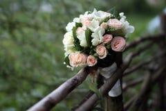 Blumenstrauß der Braut lizenzfreie stockfotos