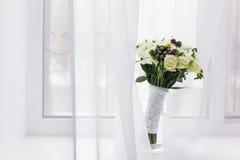 Blumenstrauß der Braut Stockfoto