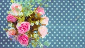 Blumenstrauß der bunten Blumen Stockbilder