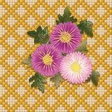 Blumenstrauß der Chrysanthemen Lizenzfreie Stockfotografie