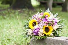 Blumenstrauß der Frühlingsblumen Lizenzfreies Stockfoto