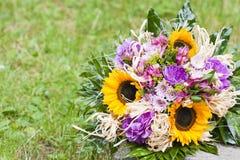 Blumenstrauß der Frühlingsblumen Stockfotos