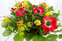 Blumenstrauß der Frühlingsblumen Stockbilder