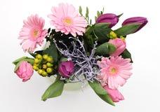 Blumenstrauß der frischen Blume Stockfotos