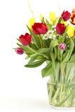 Blumenstrauß der frischen Blumen stockfoto