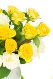 Blumenstrauß der frischen Rosen Lizenzfreie Stockfotografie