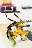 Blumenstrauß der getrockneten Blumen Stockbilder