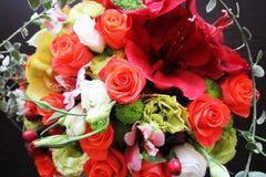 Blumenstrauß der Herbstblumen Lizenzfreies Stockfoto