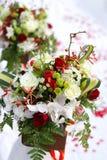 Blumenstrauß der Hochzeitsblumen Stockbild
