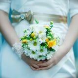 Blumenstrauß der Hochzeitsblumen Stockbilder