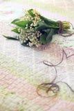 Blumenstrauß der Lilien des Tales Lizenzfreie Stockbilder