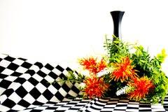 Blumenstrauß der orange Blumen Stockbild