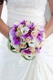 Blumenstrauß der Orchideen Stockfoto