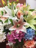 Blumenstrauß der Orchideen Lizenzfreie Stockfotografie
