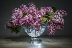 Blumenstrauß der rosa Flieder Lizenzfreie Stockfotos