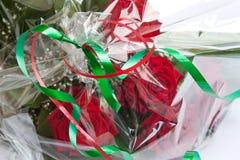 Blumenstrauß der Rosen. Stockfoto