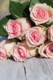 Blumenstrauß der Rosen Stockfoto