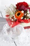 Blumenstrauß der schönen Blumen Lizenzfreies Stockfoto
