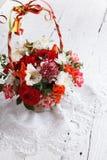 Blumenstrauß der schönen Blumen Stockfotos