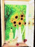 Blumenstrauß der Sonnenblumen. Lizenzfreie Stockfotos