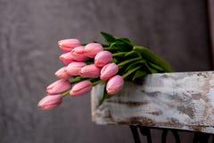 Blumenstrauß der Tulpe Stockbild