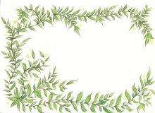 Blumenstrauß des Blattes, lizenzfreies stockbild