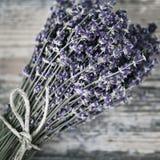 Blumenstrauß des getrockneten Lavendels Stockbild