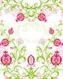 Blumenstrauß des Granatapfel-Musters Lizenzfreie Stockfotos