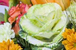 Blumenstrauß des Kohls Lizenzfreies Stockfoto