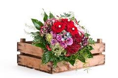 Blumenstrauß des Rotes Stockfoto